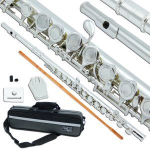Bailando silver plated B Flute