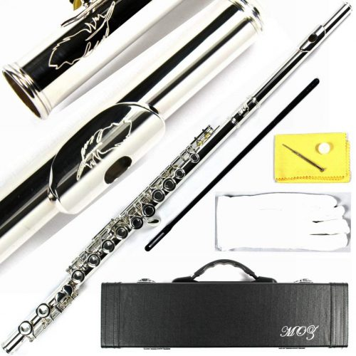 Engraved Design Closed Hole C Flute